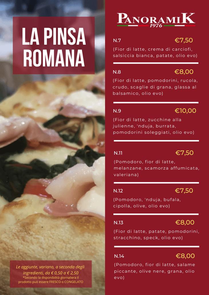 La Pinsa Romana 2